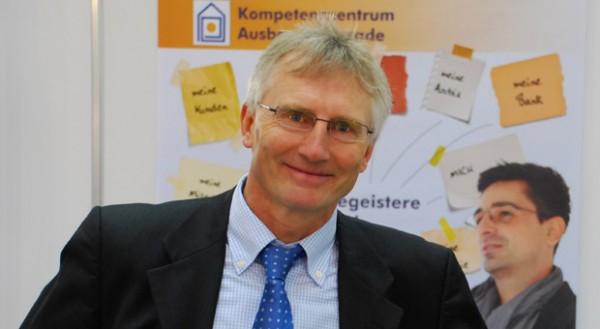 Roland Falk, Bereichsleiter des Stuckateur-Verbands in Baden-Württemberg