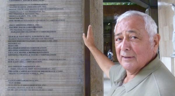 Unternehmer Horst Kessler von Sprengeisen in Manila