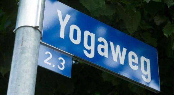 Die Stadt hat Bretz den Yoga-Weg gewidmet.