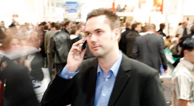 Telefonieren mit einem Smartphone