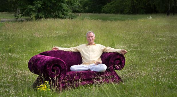 Yoga-Unternehmer Volker Bretz