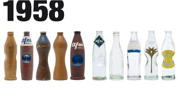 Jupp Ernst gewann 1958 mit seiner Taillen-Flasche das Design-Casting von Afri Cola.