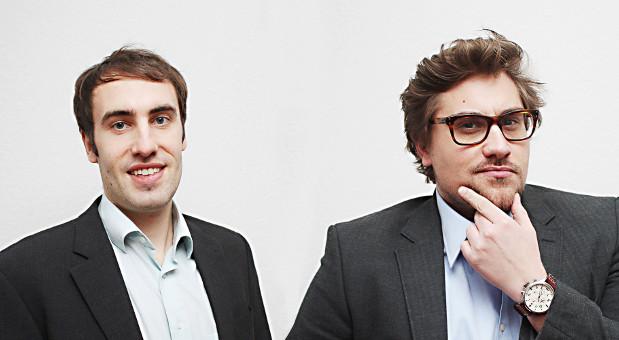 Johannes Benz (links) und Torben Meier (rechts)