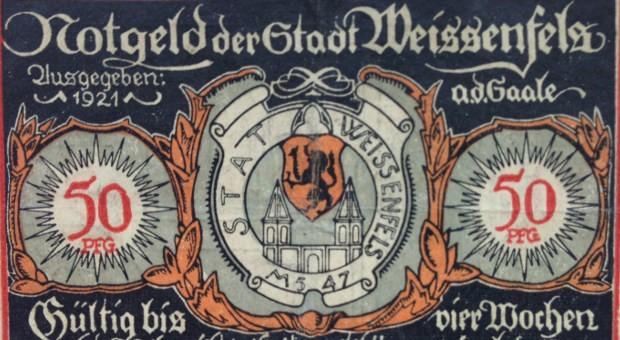 Notgeld der Stadt Weissenfels