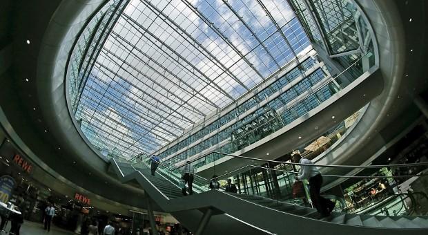 The Squaire in Frankfurt.