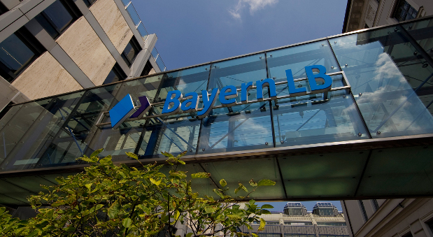 Die Zentrale der BayernLB in München