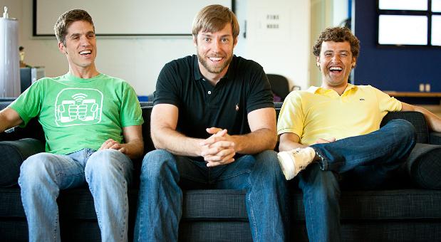 Die Bump-Gründer: Andy Huibers, Dave Lieb und Jake Mintz