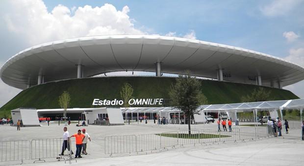 Prestigebau: Das Multifunktionsstadion Estadio Omnilife im mexikanischen Bundesstaat Jalisco.