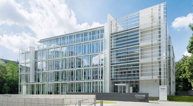Die Unternehmernszentrale von Grohe in Düsseldorf