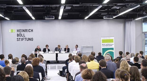 Eine Konferenz der Heinrich-Böll-Stiftung