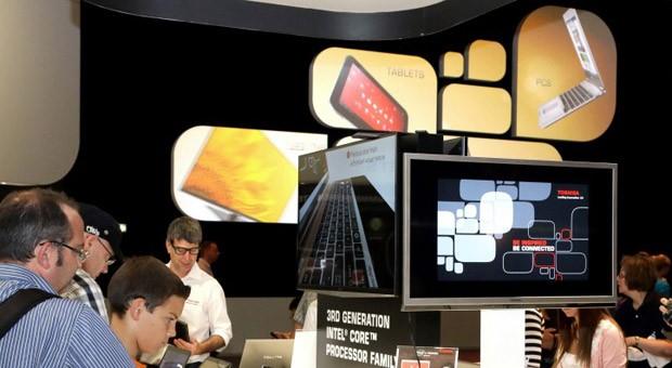 Der Stand von Toshiba auf der IFA 2012