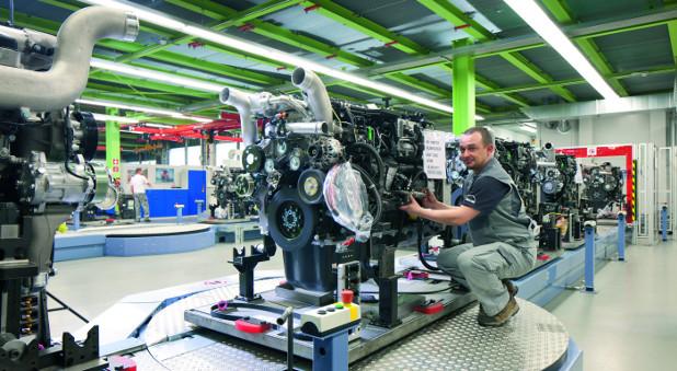 MAN baut in Nürnberg Diesel- und Gasmotoren.