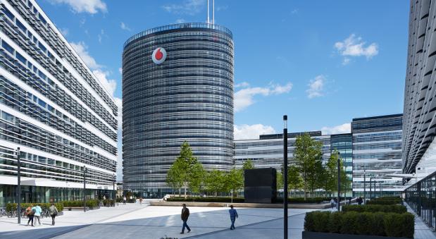 Der Vodafone Campus in Düsseldorf.