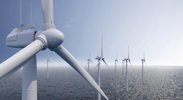 Ein Offshore-Windpark