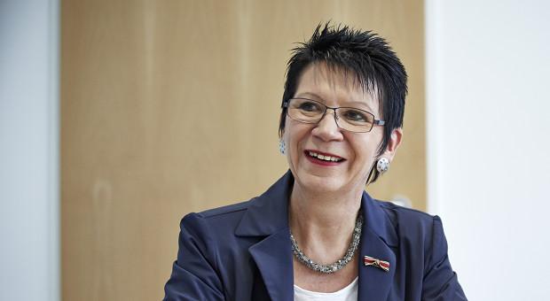 Dagmar Bollin-Flade , Geschäftsführende Gesellschafterin der Christian Bollin Armaturenfabrik in Frankfurt