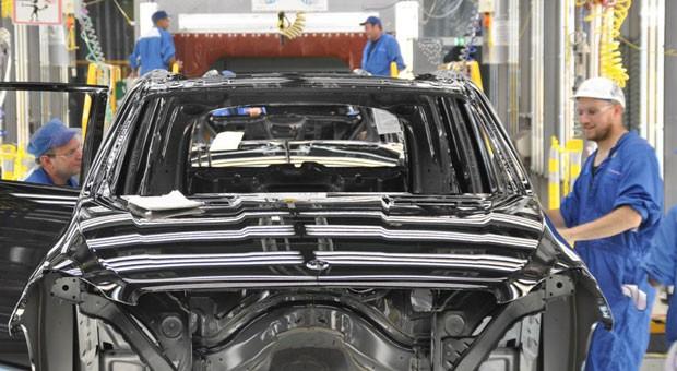 Das Daimler-Werk in Tuscaloosa, USA.
