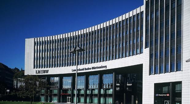 Der Hauptsitz der LBBW in Stuttgart