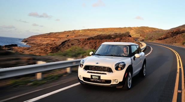Unterwegs auf Hawaii: Der Mini Cooper S Paceman