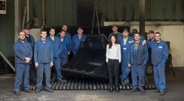 Die Krise hat sie zusammengeschweißt: Silvia Reschke und ihre Mitarbeiter