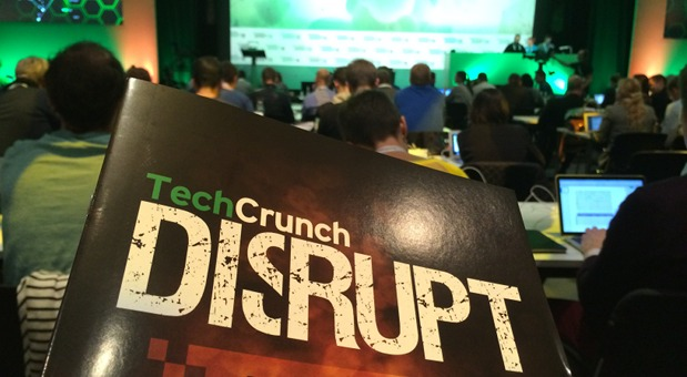 Auf der Disrupt Berlin trifft sich derzeit das Who-is-Who der Tech-Szene