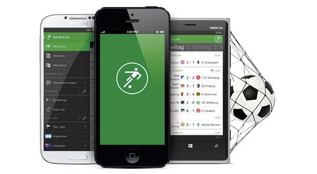 Die Fußball-App iLiga bietet unter anderem Live-Ticker, Tabellen, Statistiken und Videos.