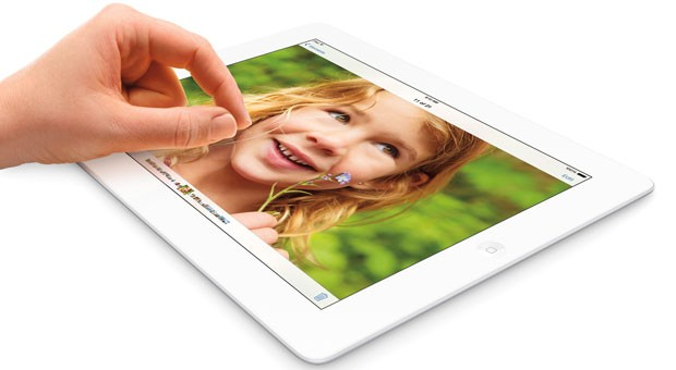Das Apple iPad mit Retina-Display