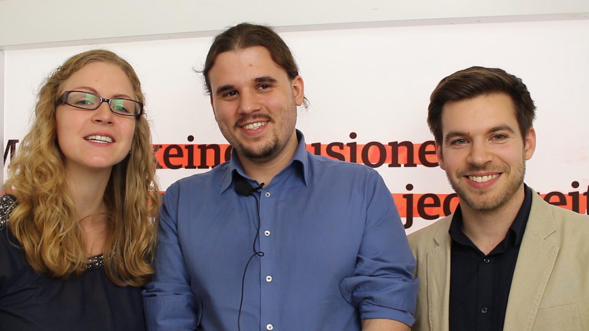 Beatrice Rech, Daniel Menzel, Stefan Schabernack