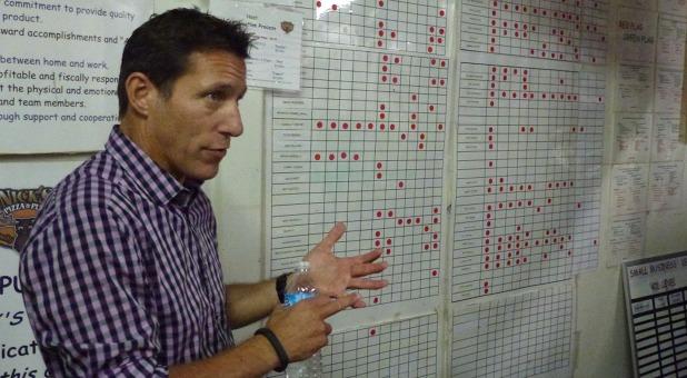 Weiterbildung nach Plan: Firmenchef Nick Sarillo