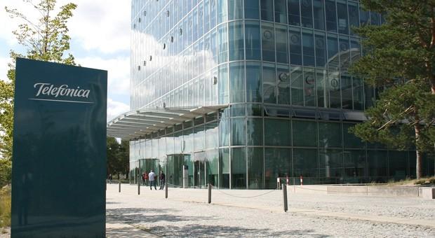 Die Telefónica-Zentrale in Deutschland
