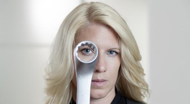 Vanessa Weber, Geschaeftsfuehrerin von Weber Werkzeuge,