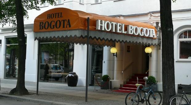 Muss schließen: das Berliner Traditionshotel Bogota