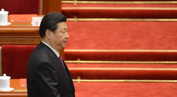 Chinas Präsident Xi Jinping nach seiner Wahl am 17. März 2013 im Nationalen Volkskongress der Kommunistischen Partei in Peking.