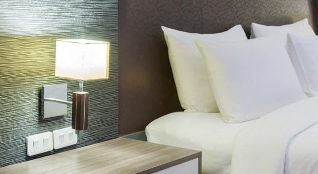 Ein Zimmer in einem Design-Hotel