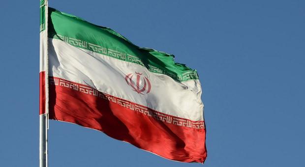 Die iranische Flagge