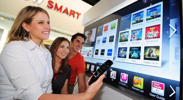 Smart TVs von LG stehen unter Verdacht, Daten über die Nutzer zu sammeln.