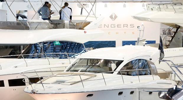 Yachten auf der Düsseldorfer Messe Boot