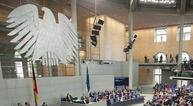 Der Plenarsaal des Deutschen Bundestags
