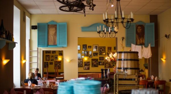 Doris Burneleits Restaurant ist heute ein Anlaufpunkt für Prominente und Berlin-Touristen.