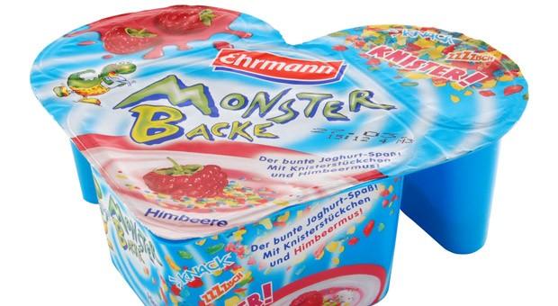 Der Monsterbacke-Quark von Ehrmann