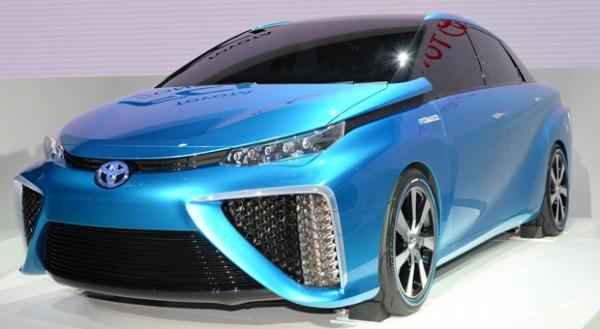 Brennstoffzellenauto der nächsten Generation: der Toyota FCV.