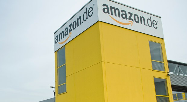 Das Logistikzentrum von Amazon in Leipzig