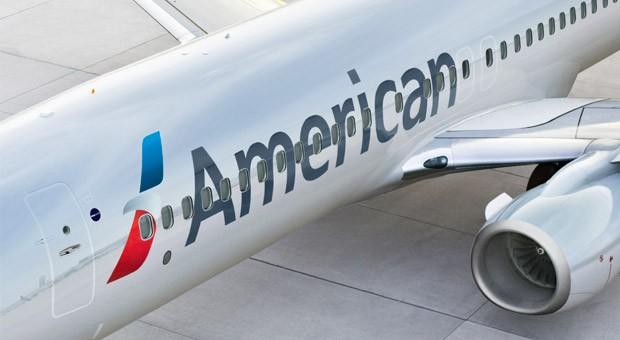Eine Boeing 737-800 von American Airlines