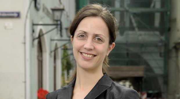 Die Volkswirtin Mandy Kriese kehrte aus Dresden in ihre Heimat Görlitz zurück und wirbt als Wirtschaftsförderin der Stadt für den Standort