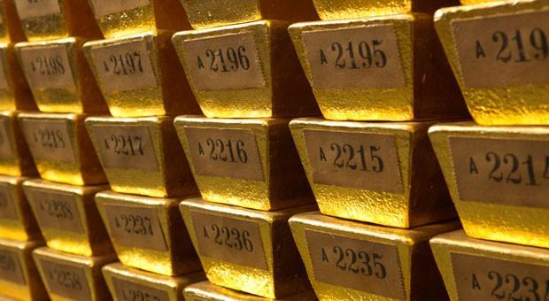Bei Anlegern vor allem in Krisenzeiten beliebt: Gold