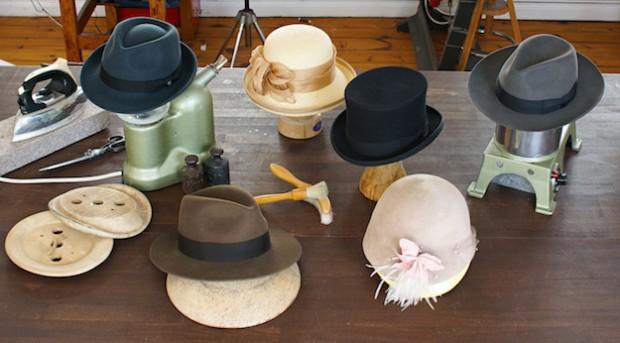 Für Individualisten: Handgefertigte Kopfbedeckungen