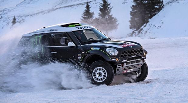 Mini mal anders: Der All4 Racing Dakar ist für schwierigste Rallye-Bedingungen gemacht.