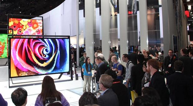 Besucher des CES 2013 in Las Vegas
