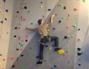 Kletterwand bei easySoft.