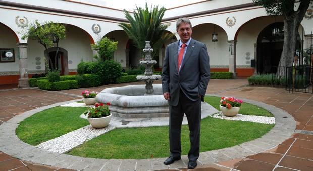 Gert Forschner ist zum ersten Mal in Mexiko - und auf der Suche nach einem Standort für seine Firma.