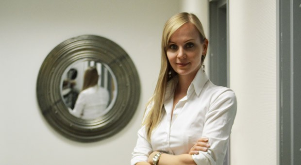 Manuela Stoll, Chefin des Start-ups Westwing in Moskau